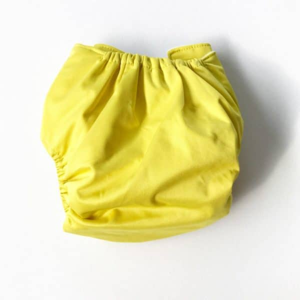 Yellow Modern Cloth nappy shell