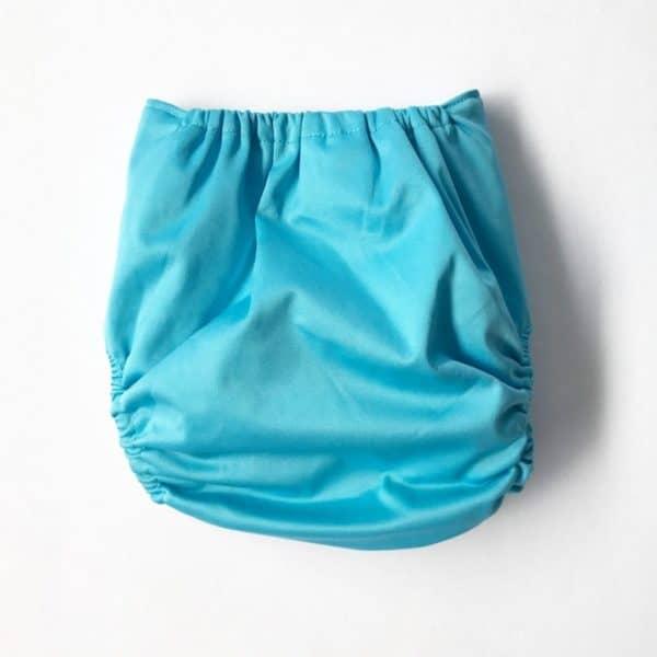 Aqua Modern Cloth Nappy Shell