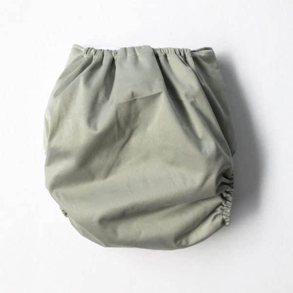 Grey Modern Cloth Nappy Shell