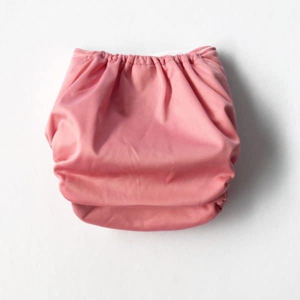 Dusky Pink Modern Cloth Nappy Shell