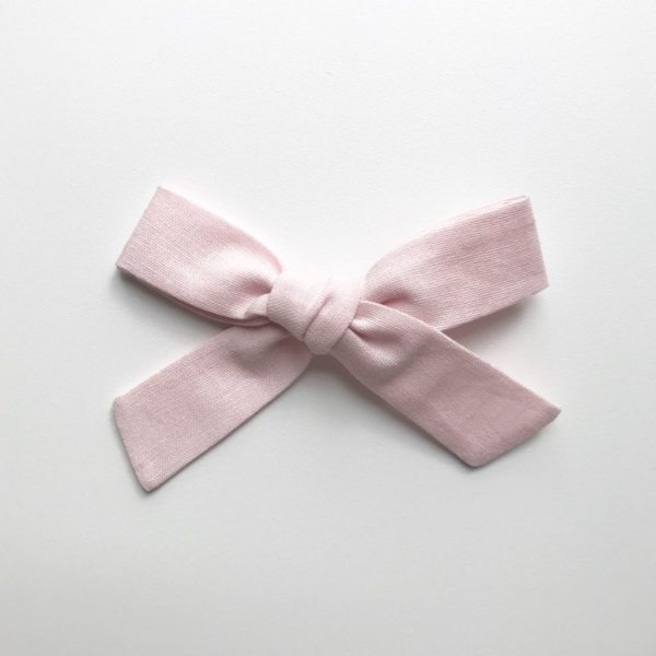 Frankie Bow - Baby Pink - available as a clip or headband