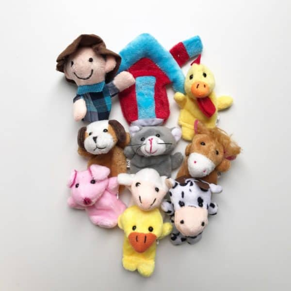 Old Mc Donald Finger Puppets