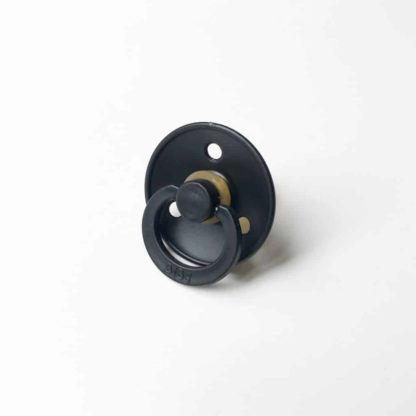 BIBS Pacifier - Black BIBS dummy-Size 2-baby dummy