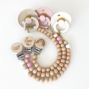 Petite Wooden beaded Dummy chain