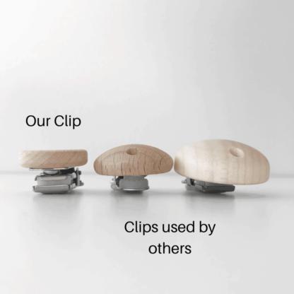 Clip Size Comparison- Size profile