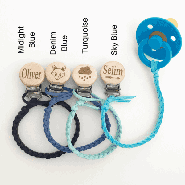 Faux Leather Dummy Clips