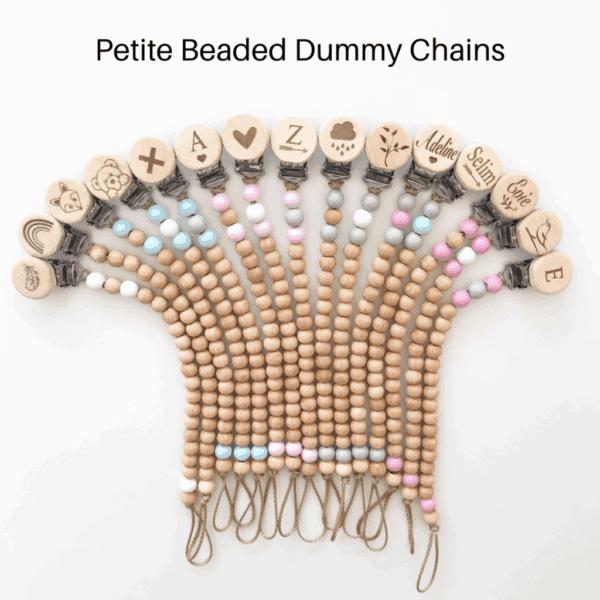 Petite beaded dummy clip