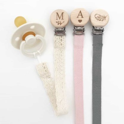 Petite Cotton Dummy Clip with BIBS Dummy