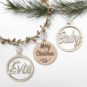 Personalized Christmas Decorations