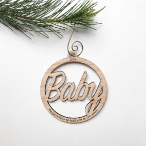 Deluxe Baby Decoration