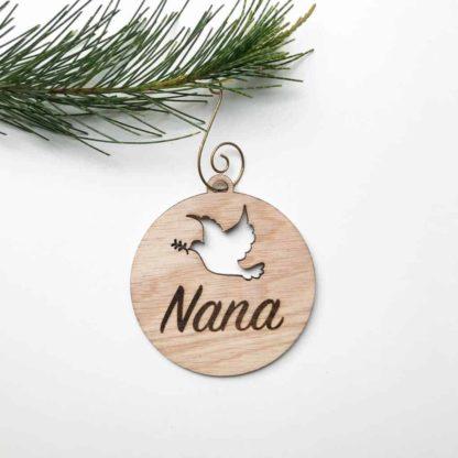 Basic Dove Christmas Decoration