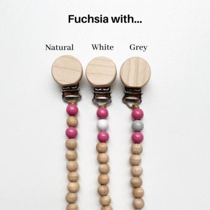 Petite Fuchsia Dummy Chains
