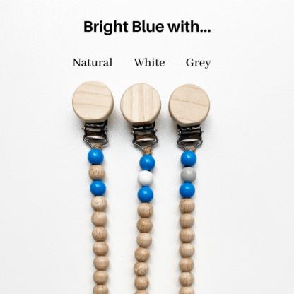 Petite Bright Blue Dummy Chains