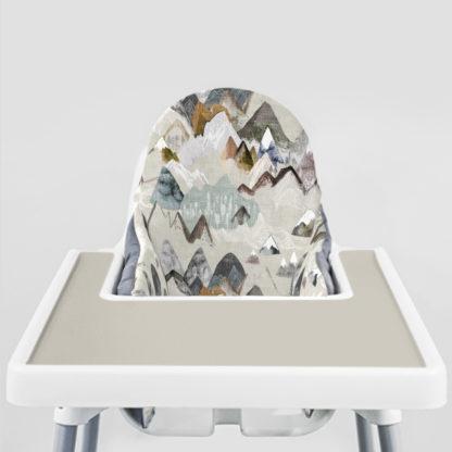 Call of the Mountains Ikea Highchair cushion cove-Coastal Greige