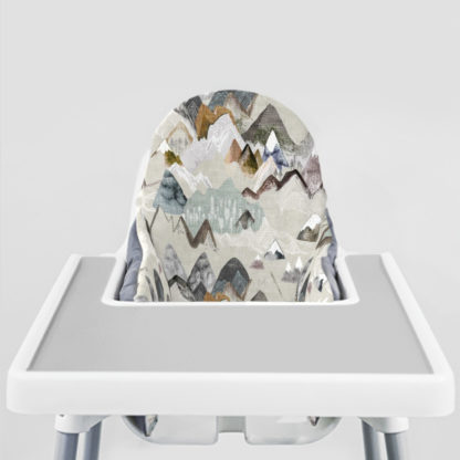 Call of the Mountains Ikea Highchair cushion cove-stone Grey Placemat