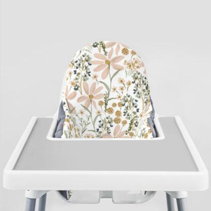 Daisy Dreams Ikea Highchair cushion cove-Stone Grey