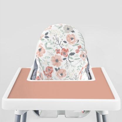Soft Meadow Ikea Highchair cushion cove-Pale Terracotta Placemat
