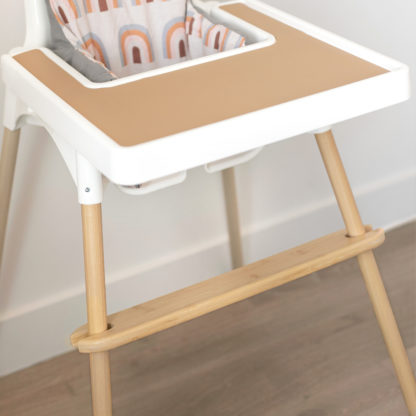 IKEA highchair Bamboo Footrest and Bamboo Leg Wraps