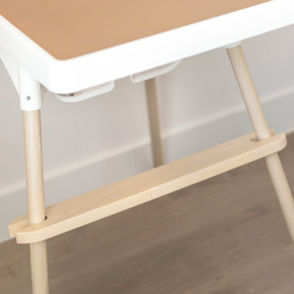 IKEA highchair Maple Footrest and Maple Leg Wraps