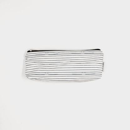 Restaurant Travel Bag - Black and White Stripes